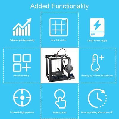 Used Creality Ender 5 3D Printer 220X220X300mm 8