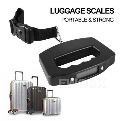 Electronic Digital Portable Scale Luggage Weight Hanging Travel 50 KG 10G AU 11