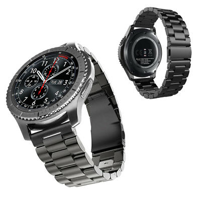 For Samsung Gear S3 Frontier/Classic Stainless Steel Luxury Wristband Band Strap 6