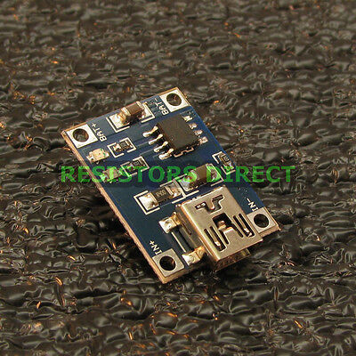 TP4056 5V Lithium Battery Charging Board Module 5 Volt Mini USB 1A Charger Y20