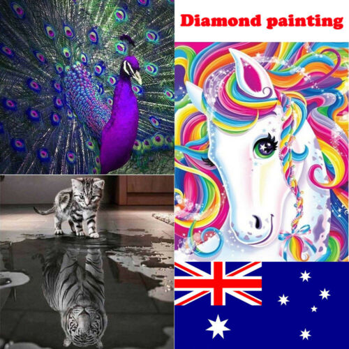 5D Diamond Painting Embroidery Cross Craft Stitch Pictures Arts Kit_Mural Decor 7