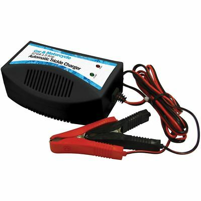Car 12v battery charger trickle charge for STORAGE automatic cut out DEEP cycle 3