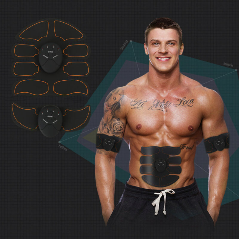Stimulator Training Smart Fitness Gear Muscle Abdominal Toning Belt Trainer 4