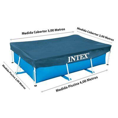 Intex telo 300 x 200 copri piscina piscine rettangolare easy frame 28038 - Rotex 2
