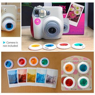 For Fujifilm Instax Mini 8 9 Film Camera Filters + Stickers + Frames + Deco Kits 3