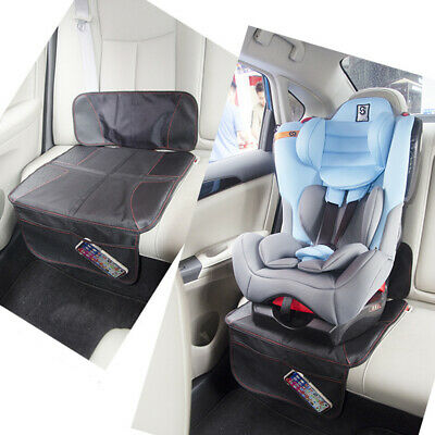 Car Seat Protector Thickest Padded Waterproof Back Seat Organizer Kick Mat Cover 3