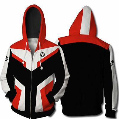 Avengers Endgame Quantum Realm Sweatshirt Jacket Advanced Tech Hoodie Cosplay 5