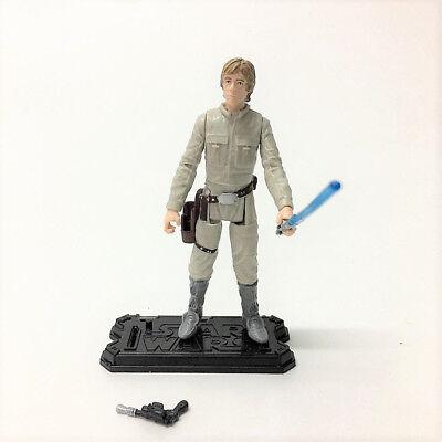 "Lot 2pcs Star Wars LUKE SKYWALKER & DARTH VADER 3.75"" Hasbro action figure toy 4"