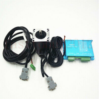 3NM Nema23 428Oz-in CNC Hybrid Servo Stepper Motor Drive DSP System Closed Loop 8