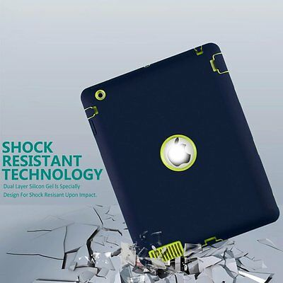 """Heavy Duty Shockproof Case Cover For New iPad 6th Gen 9.7"""" iPad 4 3 2 mini Air 4"""