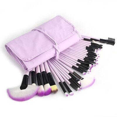 Professional Makeup Brushes Set Eyeshadow Lip Powder Blusher Cosmetics Kit 2