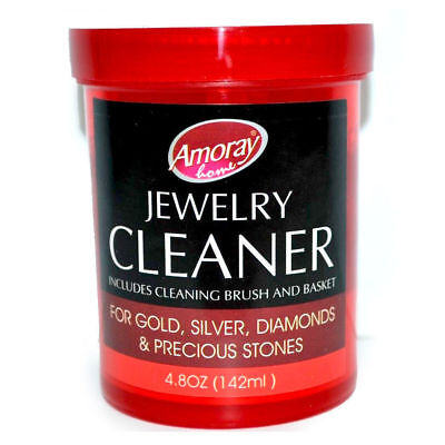 Jewelry Cleaner Solution Safely Clean all Jewelry Gold Silver & Diamonds 5