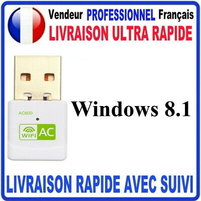 CLE USB WIFI ADAPTATEUR 600 Mbps DONGLE USB DOUBLE BANDE 6