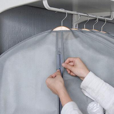 1/5/10Pcs Garment Suit Bag Dress Clothes Coat Cover Breathable Protector Storage 6