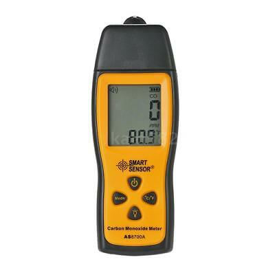 SMART SENSOR Handheld LCD Carbon Monoxide Meter CO Tester Monitor Detector Gauge 9