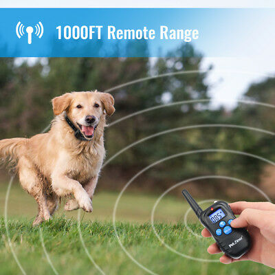 Petrainer Dog Training Collar Rechargeable Electric Remote Control Shock Collar 4