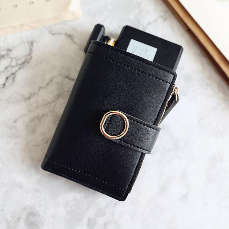 Fashion Women Ladies Leather Purse Money Clip Wallet Clutch Card Bag Holder Gift 7