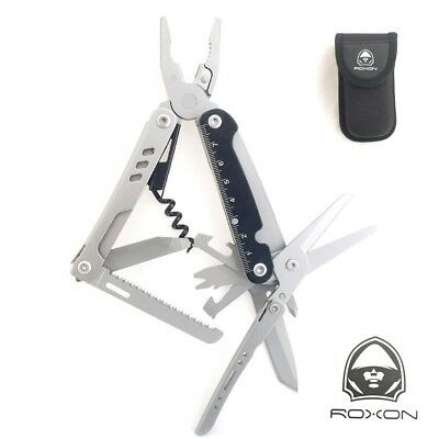 New Roxon Wave Std Stainless Steel Multi-Tool Knife 16 Tools In 1 2