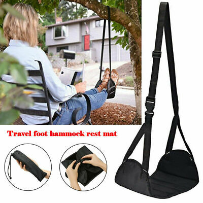 2Pcs Comfy Hanger Travel Airplane Hammock Foot Footrest Made with Memory Foam US 2