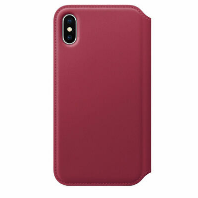 Genuine Leather Folio Flip Wallet Case Cover For Apple iPhone XR XS 6S 7 8 Plus 12