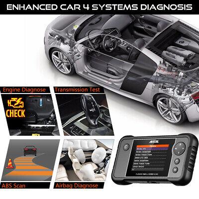 Check Engine Transmission ABS SRS Airbag Code Reader OBD2 Scanner Diagnostic 3