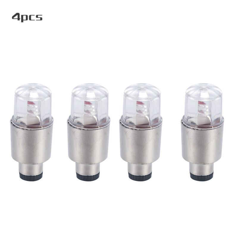 4Pcs LED Dragonfly Car Wheel Tyre Light Bulb Tire Air Valve Stem Cap Lamp Decor 12