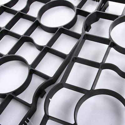 Rasengitter Reitplatzplatten Rasenwaben Gehwegplatten Rasenmatte 50x50 4cm 2,5cm