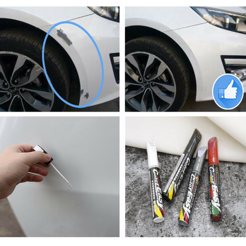 Car Scratch Repair Remove Touch Up Paint Pen Tool Waterproof Practical 4Colors 3