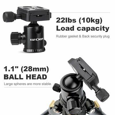 Professional Portable Tripod Ball Head for Canon Nikon Camera DSLR K&F Concept 4