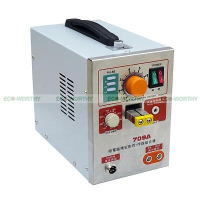 1.9KW 110V 60A LED Dual Pulse Spot Welding Welder Battery Charger +Foot Pedal 6