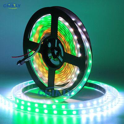 WS2812B LED Streifen 5m WS2812 RGB Licht SMD 5050 Individuell Adressierbar DC5V 2