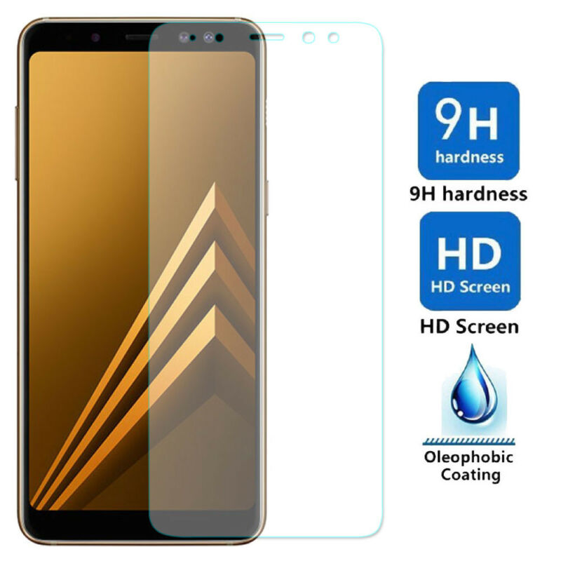 For Samsung Galaxy A8/A8Plus /J8 2018 9H Tempered Glass Film Screen Protector Y1 3
