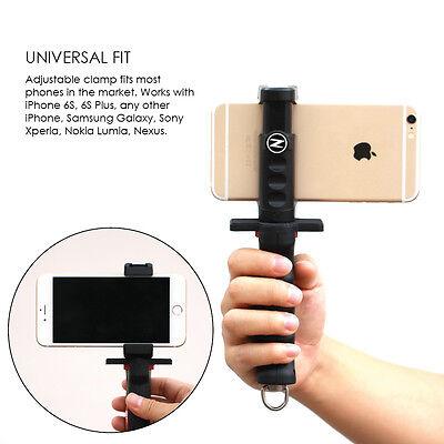 super popular a549c d958e ZTYLUS UNIVERSAL PISTOL Grip Kit: Smartphone Rig, Tripod Mount, Filmmaker  Grip