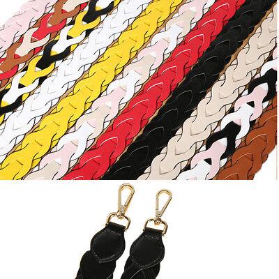 DIY Weave Strapper Replacement Bag Strap Leather Women Handbag Accessory 90cm