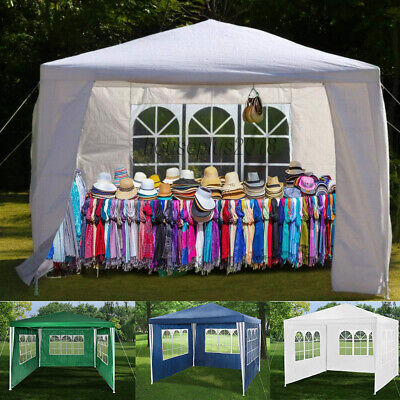 New 3X3m/4m/6m Waterproof Garden Gazebo Party Tent Marquee Awning Canopy Shelter 3
