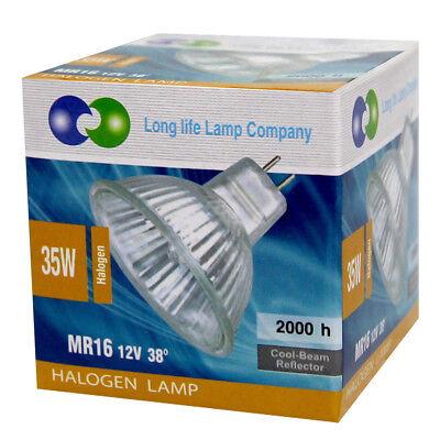 MR16 Halogen Light Bulbs 5W 10W 20W 35W 50W 12V Low Voltage GU5.3 50mm Spotlight 6