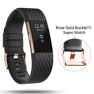For Fitbit Charge 2 Wrist Strap Wristbands Best Replacement Accessory Watch Band 9