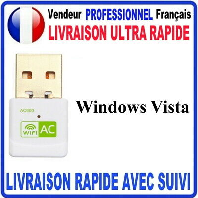 CLE USB WIFI ADAPTATEUR 600 Mbps DONGLE USB DOUBLE BANDE 4