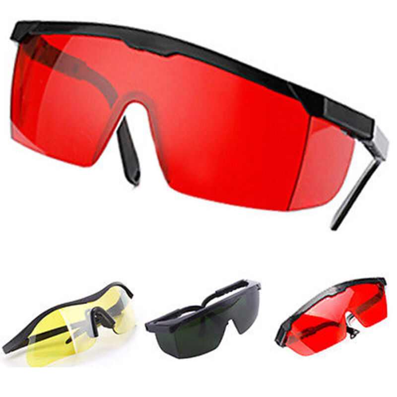 Multicolor Laser Eye Glasses Protection Safety Goggles Large Polycarbonate Lens 5