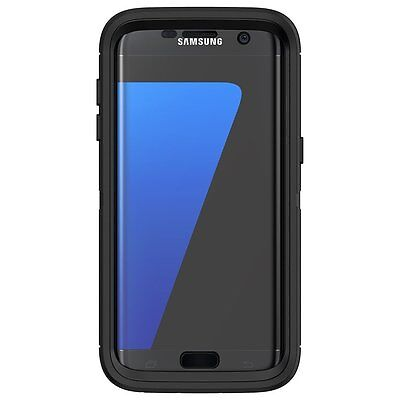 new style e3299 10260 OTTERBOX DEFENDER SERIES Case for Samsung Galaxy S7 Edge (BLACK)