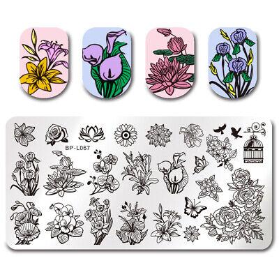 BORN PRETTY Nail Art Stamping Stamper Raschietto Piastra Plate Immagine 9