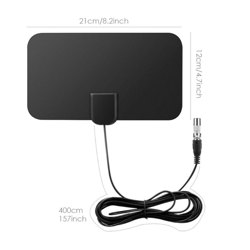 1/2 960 Miles Indoor Digital TV HDTV Antenna [2019 Latest] UHF/VHF/1080p 4K 5