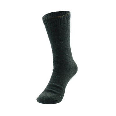 3 Pairs Mens Heavy Duty Winter Thermal Work Boots Wool Cotton Crew Socks 9-13 2