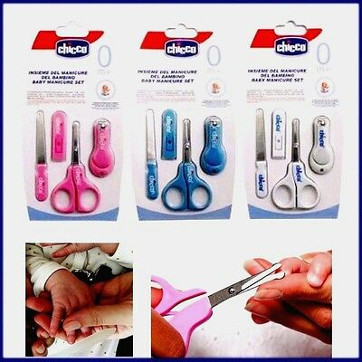 Baby Nail File Safe Baby Nail Clippers for Newborn or Toddler Toes Manicure Set