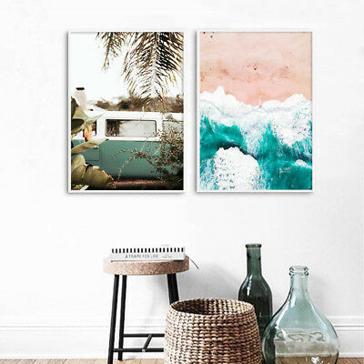 Travel Landscape Canvas Poster Minimalist Wall Art Print Nordic Style Picture
