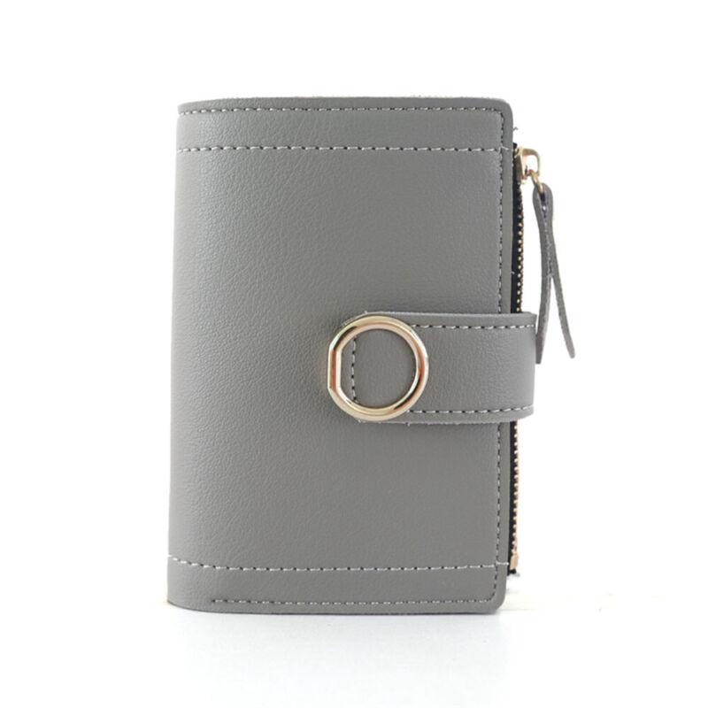 Fashion Women Ladies Leather Purse Money Clip Wallet Clutch Card Bag Holder Gift 6