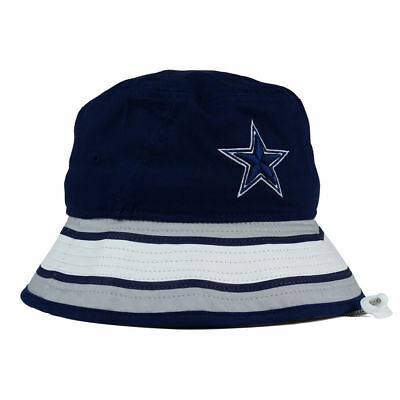 a1e0fd1fdd8 ... Dallas Cowboys NFL Team Stripe Bucket New Era Training Camp Men s  Floppy Hat Cap 4
