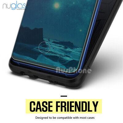 Galaxy S10 S9 S8 Plus e Note 9 8 NUGLAS Tempered Glass Screen Protector Samsung 10