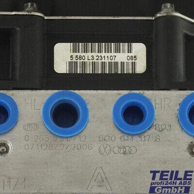 ➡️➡✅ ABS Pumpe Steuergerät Vw Seat 0265800511 6Q0907379AF 0265231712 6Q0614117S