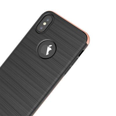 Coque Etui Intégrale 360° Protection iPhone 6/6S/Plus/7/8/X + Film Verre trempé 9